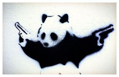 Panda WWF malveillant