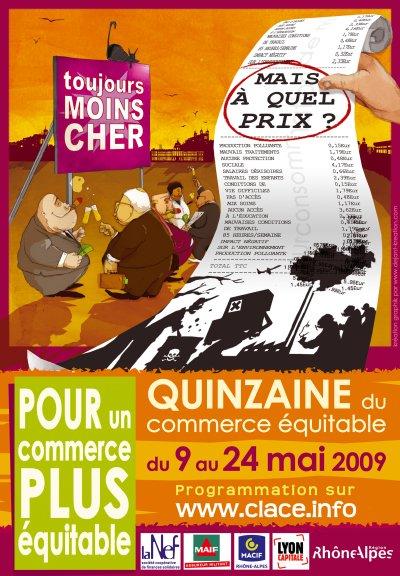 quinzaine du commerce équitable 2009