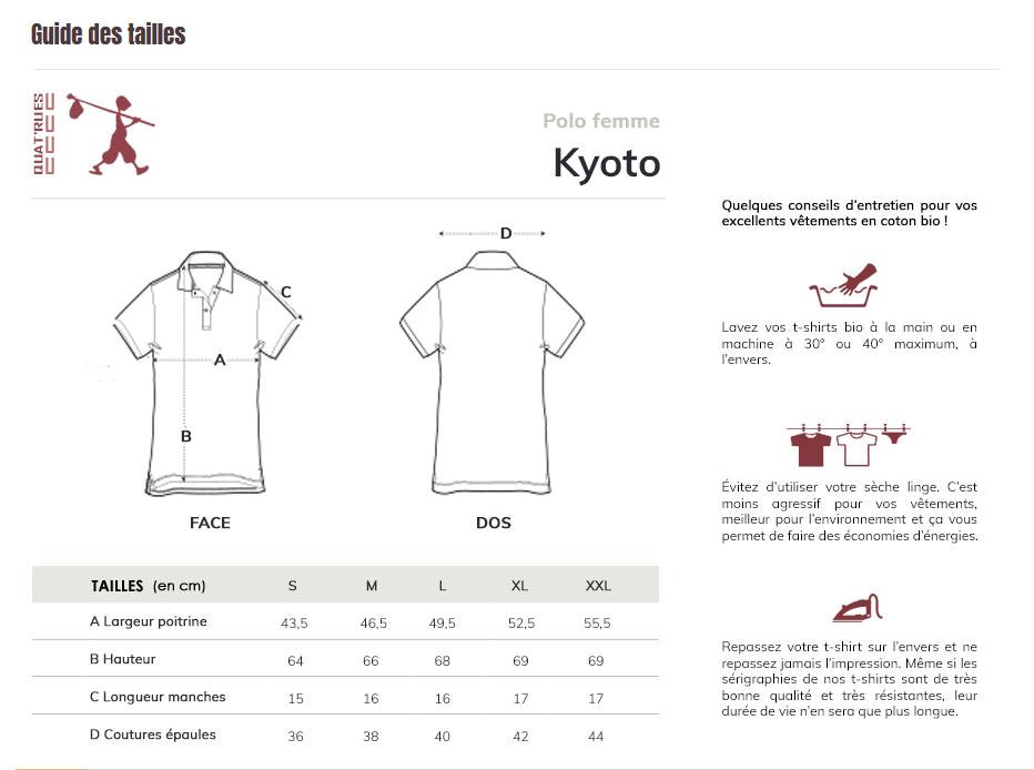 Corres de tailles Kyoto