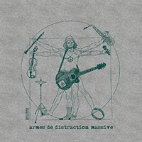 Visuel Armes de distraction massive sur t-shirt bio