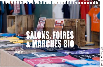 Tourver les produits Quat'rues sur les salons, foires & marchés bio