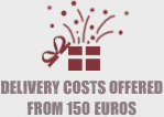 Delivery costs offered from 150 €
