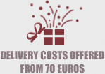 Delivery costs offered from 70 €