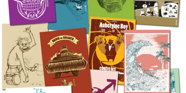 Nouveaux lots de cartes postales